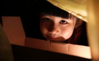 練習筆記(六):閃燈放在小幸福下巴前方的小紙