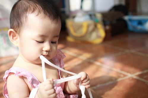在阿姨家認識的新朋友長長的叫繩子好像還蠻好吃的